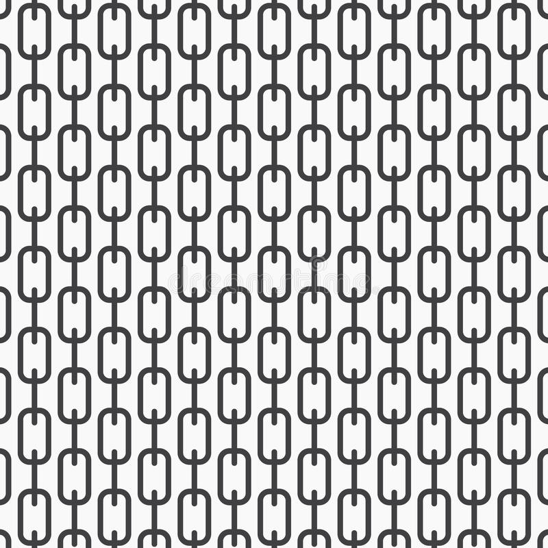 Free Vector Monochrome Pattern, Abstract Chain Black Lines On White Background, Subtle Vertical Chains. Design Element For Prints Stock Photography - 91480872