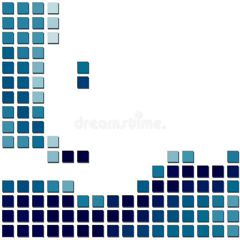 Vector Mosaic Background royalty free illustration