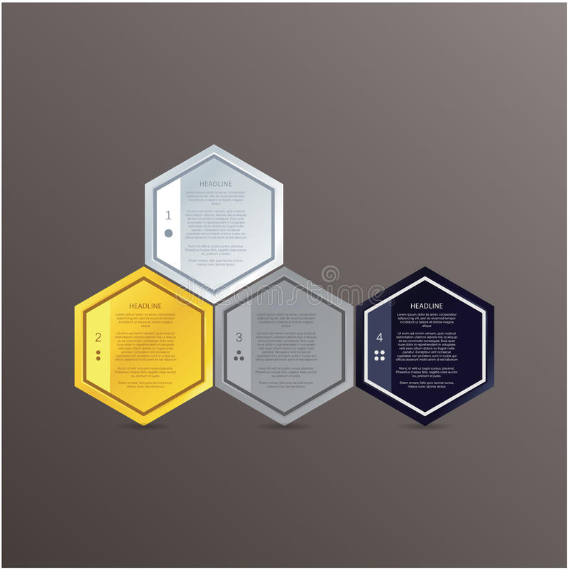 Vector mosaic template. Colorfuly polygons with space for your t royalty free illustration