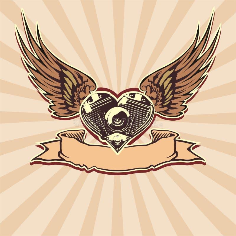 Vector Motorheart 3 ilustración del vector