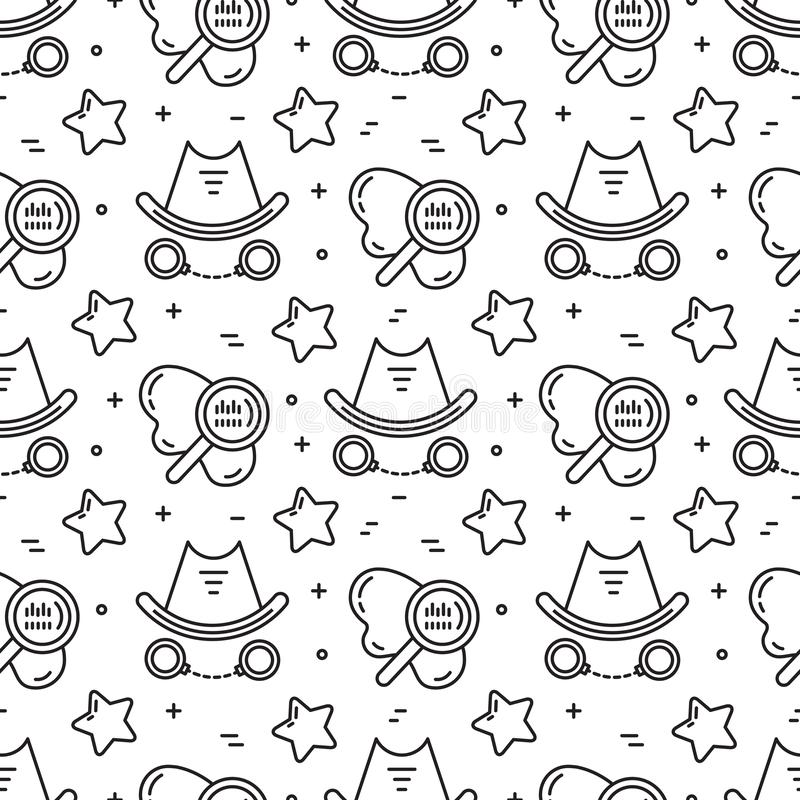 Vector movie genre surface seamless pattern simple design. Vector movie genre seamless pattern vector illustration
