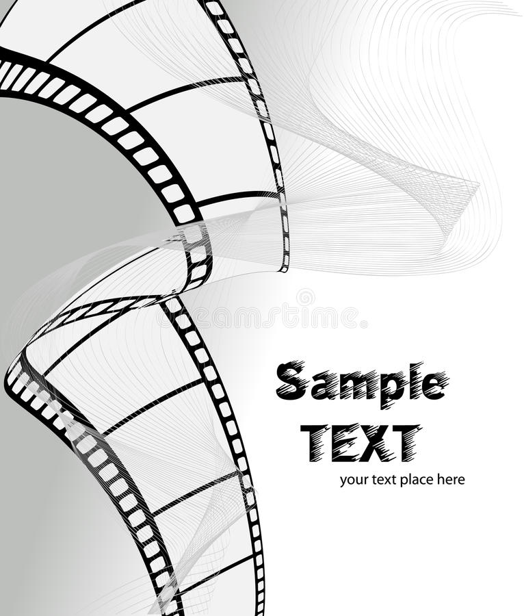Free Vector Movie/photo Film Royalty Free Stock Images - 10735109