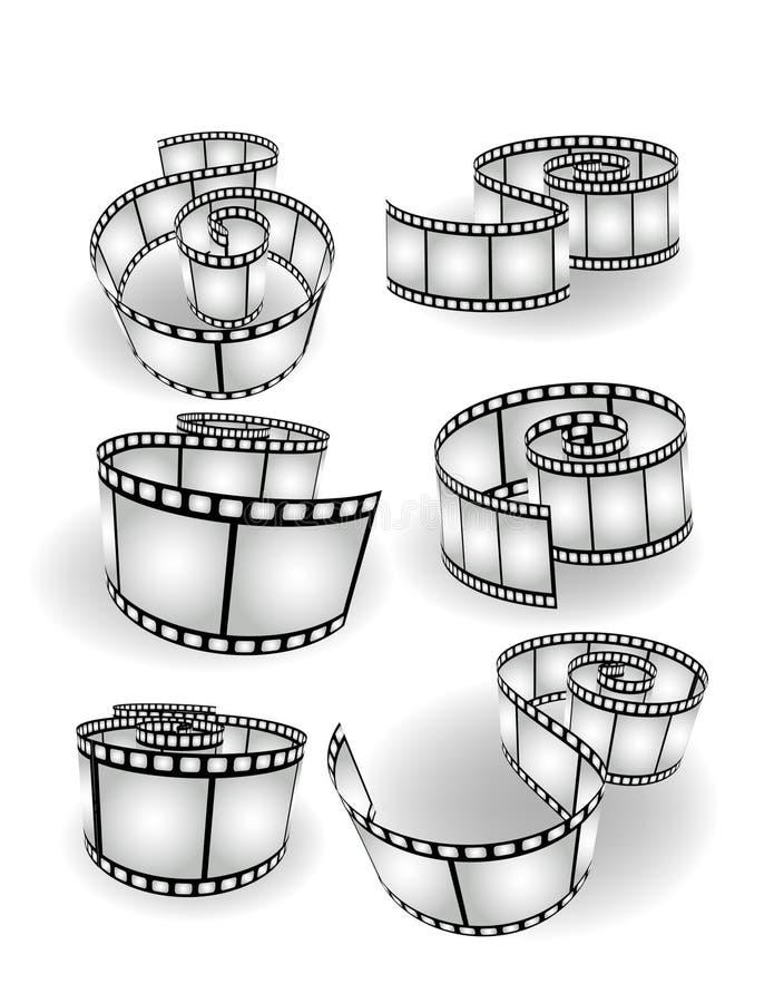 Free Vector Movie/photo Film Stock Images - 10735134