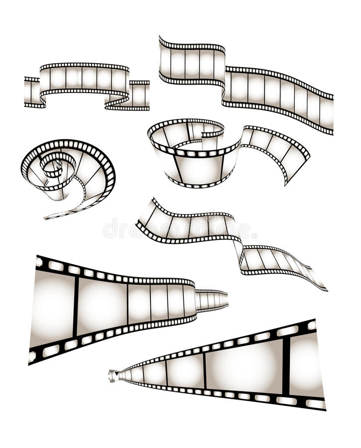 Free Vector Movie/photo Film Stock Photography - 10735142