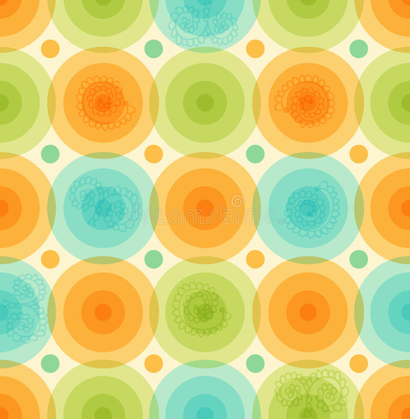 Vector multicolor background Pattern with glossy circles Geometric colorful template for wallpapers, covers royalty free illustration