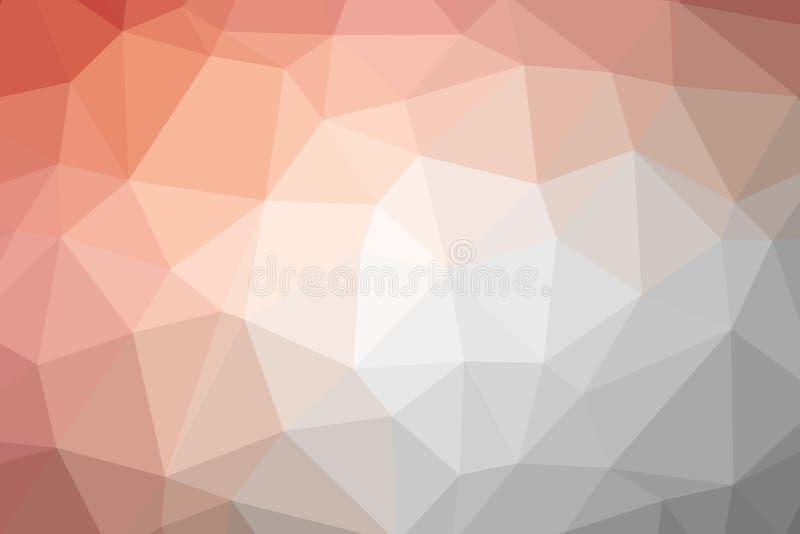 Vector multicolored abstracte achtergrond van effect geometrische driehoeken vector illustratie