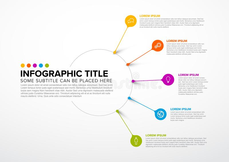 Vector multipurpose Infographic template vector illustration