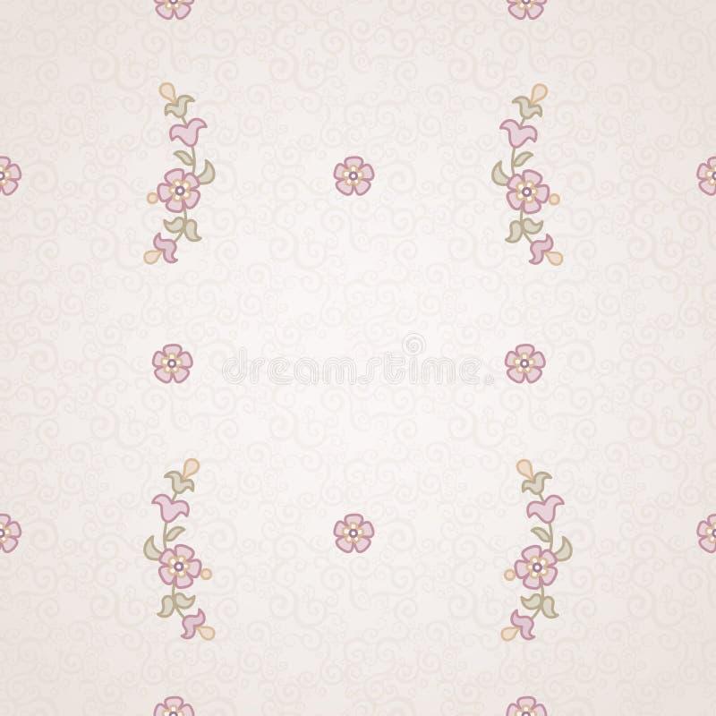 Vector naadloos bloemenpatroon in Oostelijke stijl vector illustratie