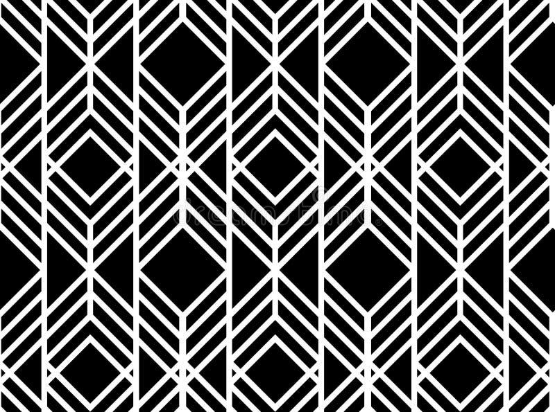 Vector naadloos geometrisch patroon vector illustratie