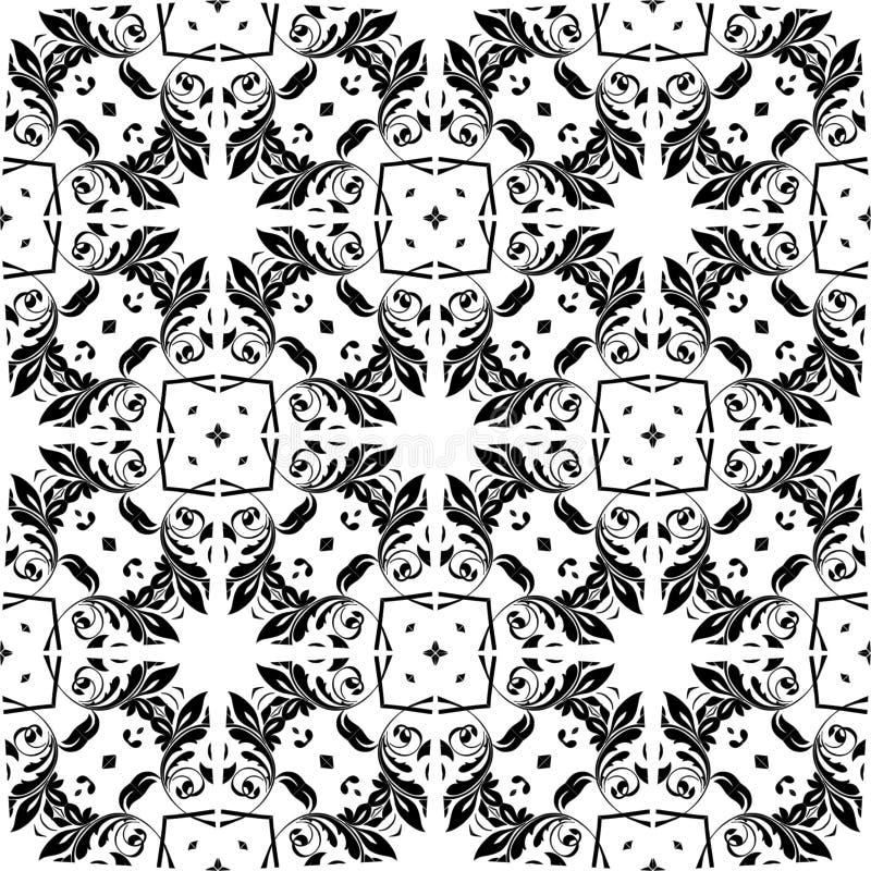 Vector naadloos ontwerppatroon royalty-vrije illustratie