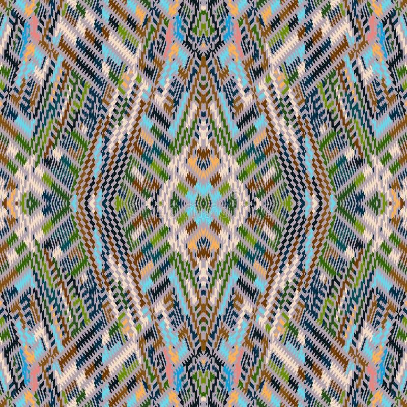 Vector naadloos patroon royalty-vrije stock afbeelding