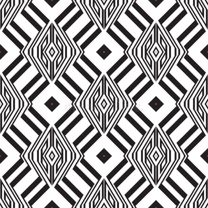 Vector naadloos patroon stock illustratie