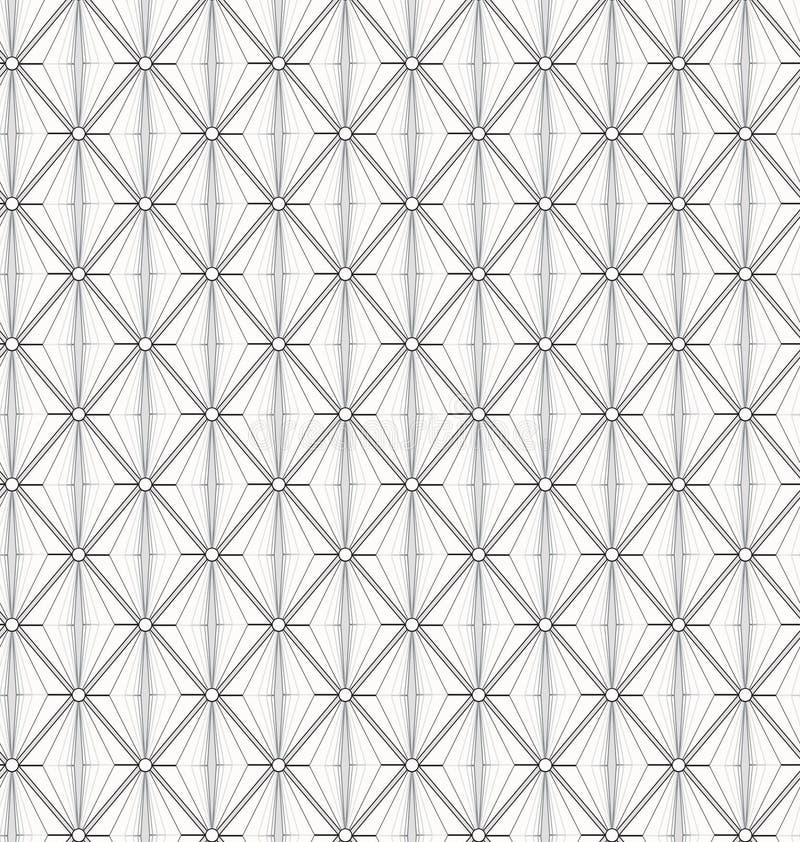 Vector naadloos patroon Abstracte modieus royalty-vrije illustratie