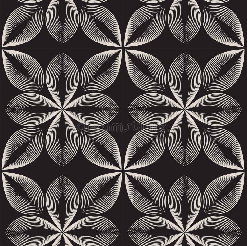Vector naadloos patroon Abstracte modieuze achtergrond royalty-vrije illustratie
