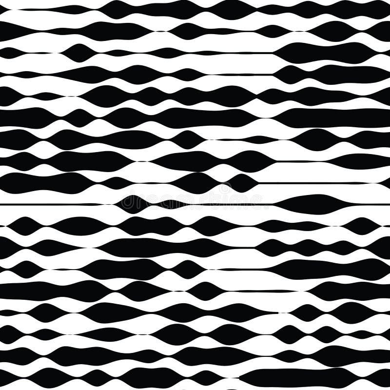 Vector naadloos patroon Algemeen begrip die geometrische samenvatting herhalen vector illustratie