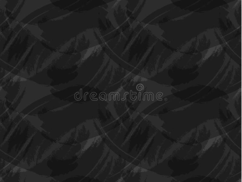 Vector Naadloos Patroon, Donkere Achtergrond, Bord royalty-vrije illustratie