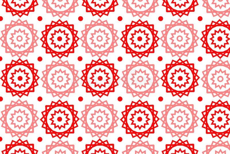 Vector Naadloos Patroon - eps-10 Vector illustratie royalty-vrije illustratie