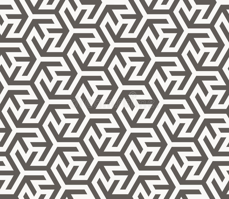 Vector naadloos patroon Geometrische textuur stock illustratie