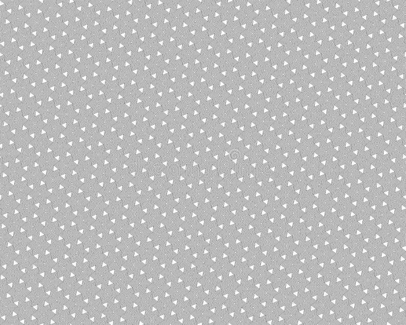 Vector naadloos patroon, geroteerde veelhoeken, zwarte lijnen vector illustratie