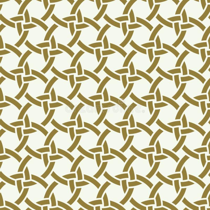 Vector naadloos patroon, grafische geometrisch royalty-vrije illustratie