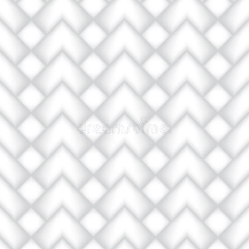 Vector naadloos patroon Herhaalbaar ontwerp met geometrische vormen Minimalisticachtergrond met driehoeken en zigzag vector illustratie