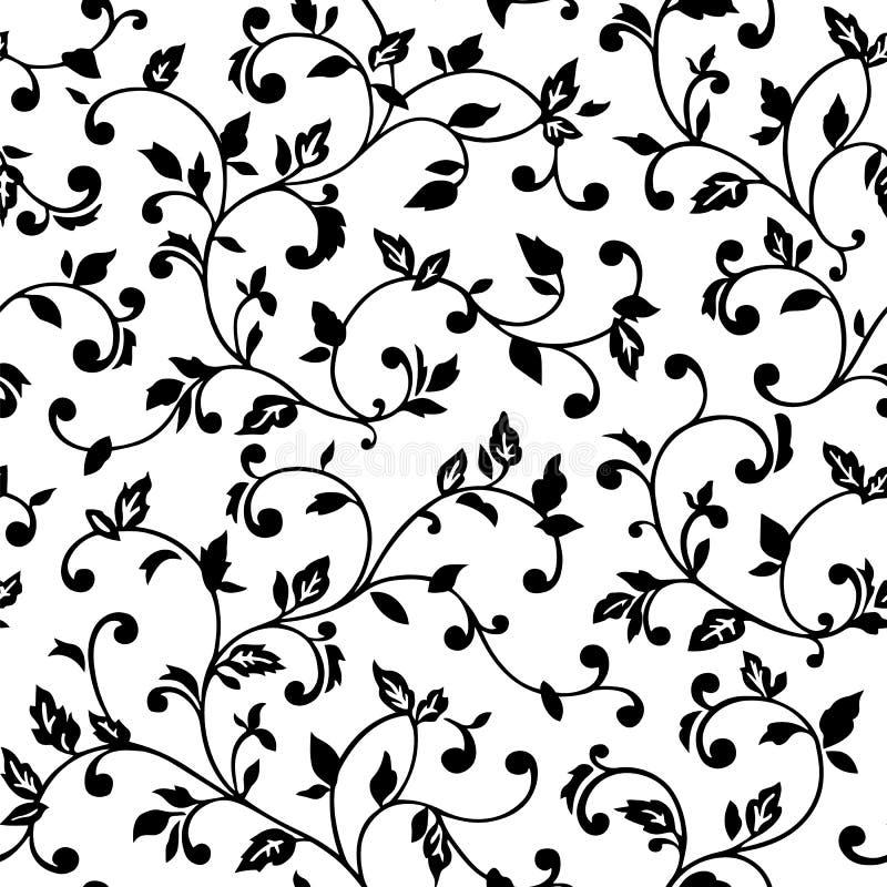 Vector naadloos patroon met de lentetakken Decoratieve achtergrond voor voor het ontwerp van oppervlakten, textiel, behang, prent royalty-vrije illustratie