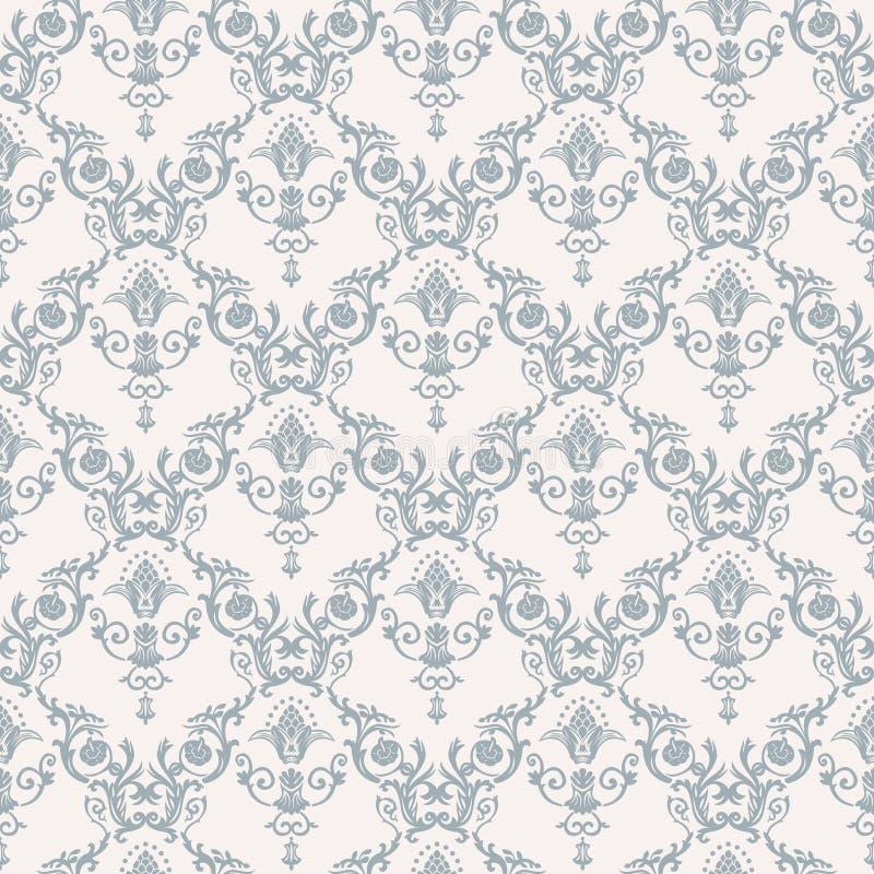 Vector naadloos patroon met kunstornament voor royalty-vrije illustratie
