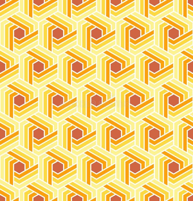 Vector naadloos patroon Moderne Geometrische Textuur royalty-vrije illustratie