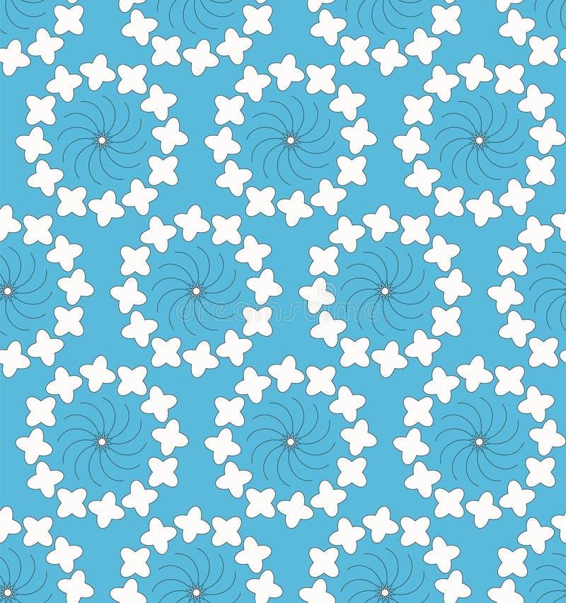 Vector naadloos patroon moderne modieuze textuur stock illustratie