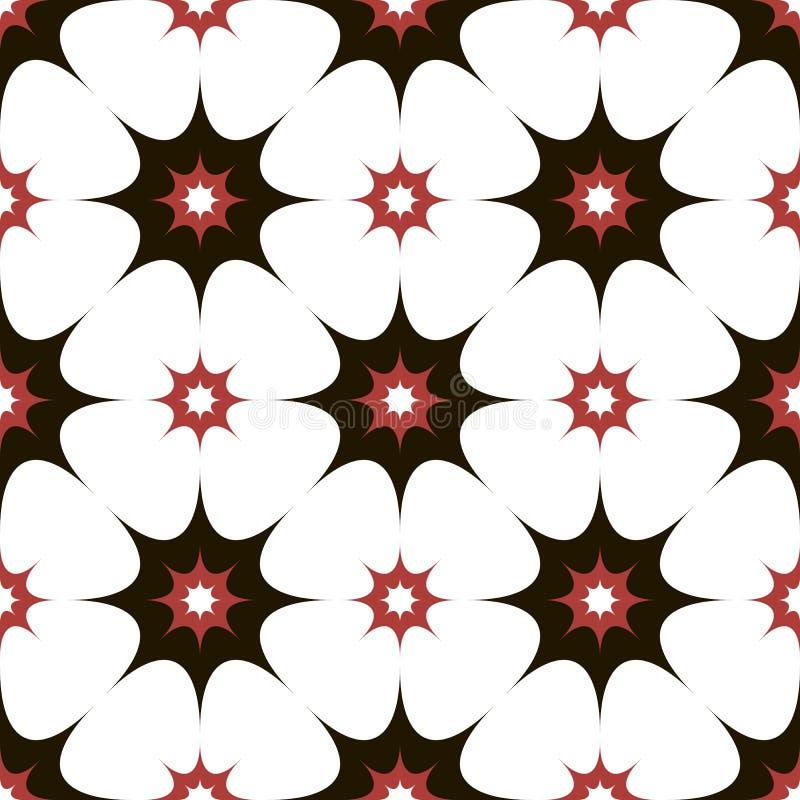 Vector naadloos patroon moderne modieuze textuur royalty-vrije illustratie