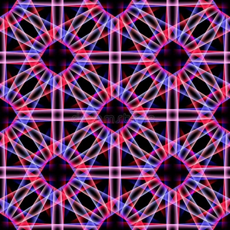 Vector naadloos patroon moderne modieuze textuur Kleurrijke helder royalty-vrije illustratie