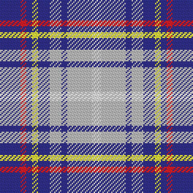 Vector naadloos patroon Schots geruit Schots wollen stof, Staat van Nevada stock illustratie