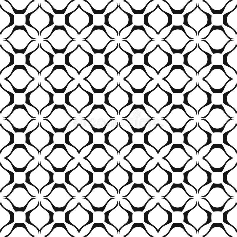 Vector Naadloze Abstracte Golvende Achtergrond vector illustratie