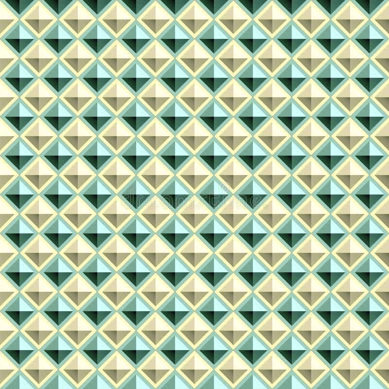 Vector naadloze achtergrond - stock illustratie