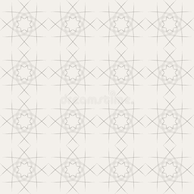 Vector naadloze achtergrond royalty-vrije illustratie