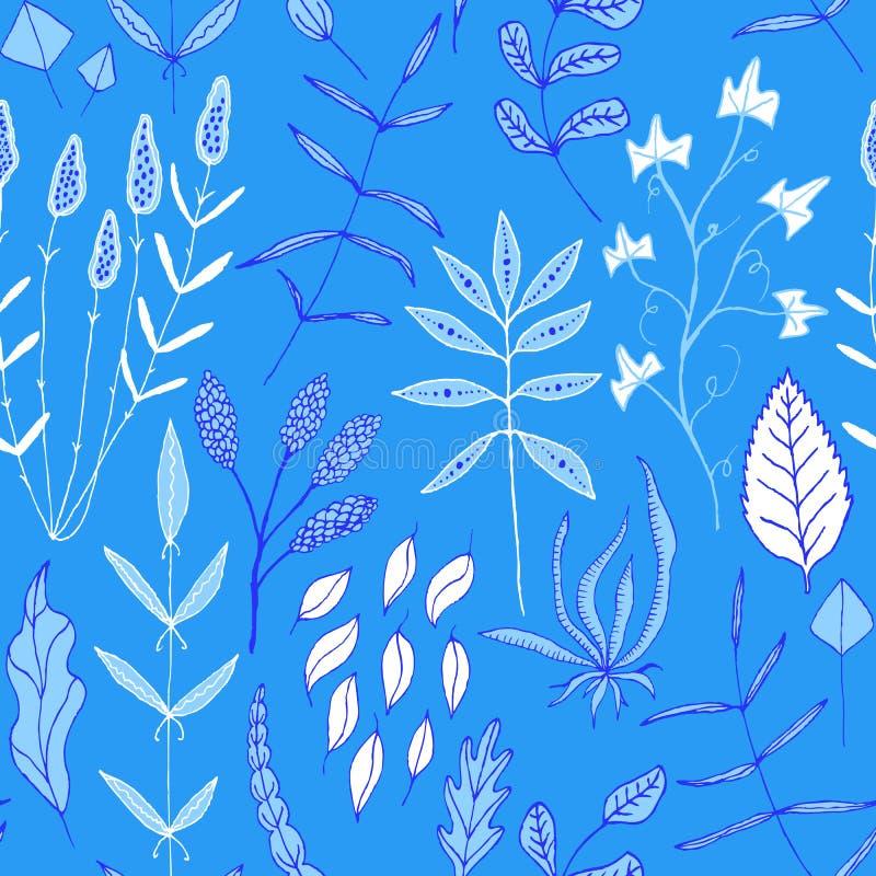 Download Vector Naadloze Achtergrond Met Van Bloemen Vector Illustratie - Illustratie bestaande uit bloem, elementen: 39103795