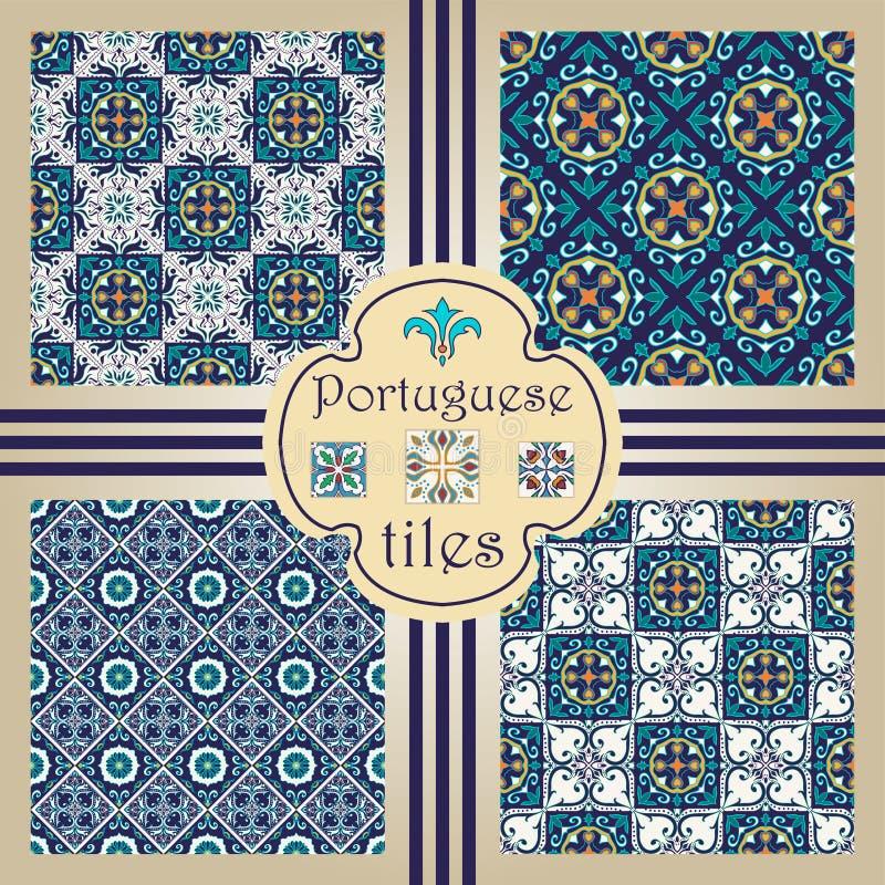 Vector naadloze textuurinzameling Reeks mooie gekleurde patronen voor ontwerp en manier met decoratieve elementen vector illustratie