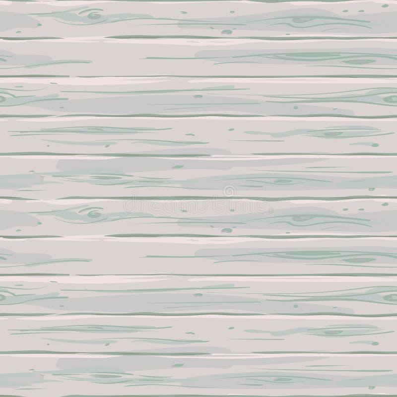 Vector naadloze witte horizontale omheining Retro textuur van de raad Uitstekende houten hand-drawn achtergrond royalty-vrije illustratie