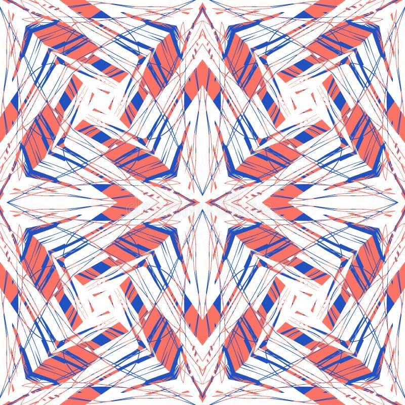 Hippie-Grafikmuster vektor abbildung