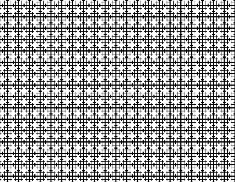 Vector nahtloses Muster abstrakter Hintergrund Wiederholen von geometrischen Fliesen mit sechseckigen Elementen vektor abbildung