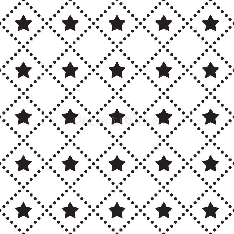 Vector nahtloses Muster E vektor abbildung