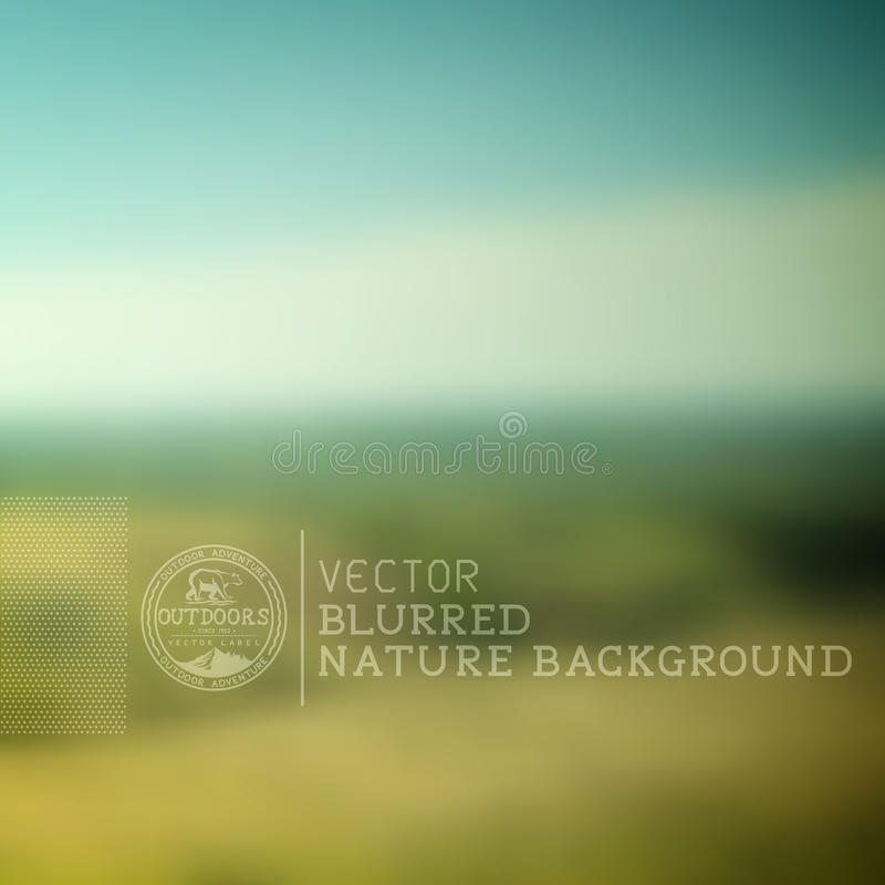Background Of Blurred Beach And Sea Waves With Bokeh: Set Of Blurred Backgrounds Landscape Stock Vector