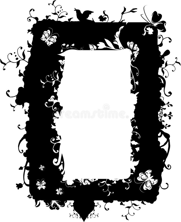 Download Vector Nature Frame Stock Photography - Image: 3022372