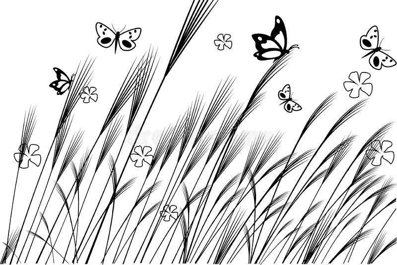 Vector nature illustration stock image
