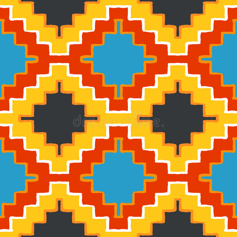 Vector navajo tribal ornament vector illustration