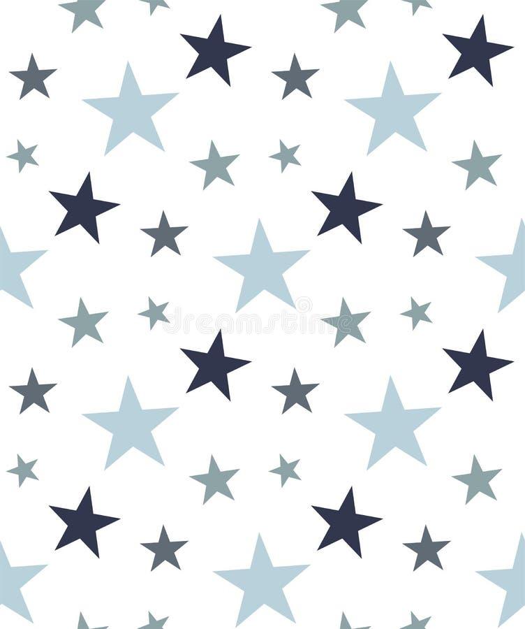 Vector neutrale geometrische naadloze patroonachtergrond stock illustratie