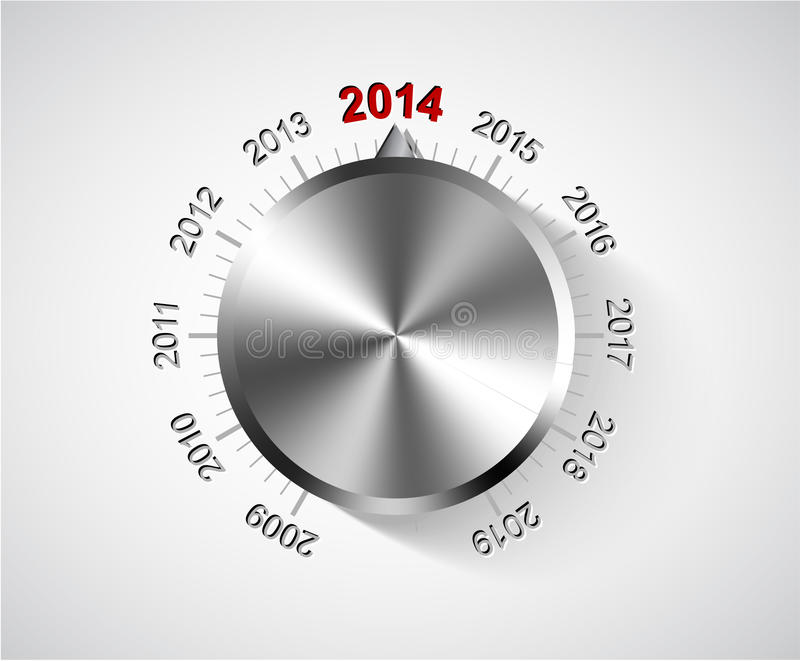 Download Vector 2014 New Year card stock vector. Image of 2014 - 33212255
