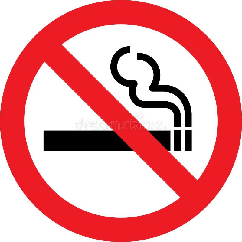 Vector Nr dat - rookt vector illustratie