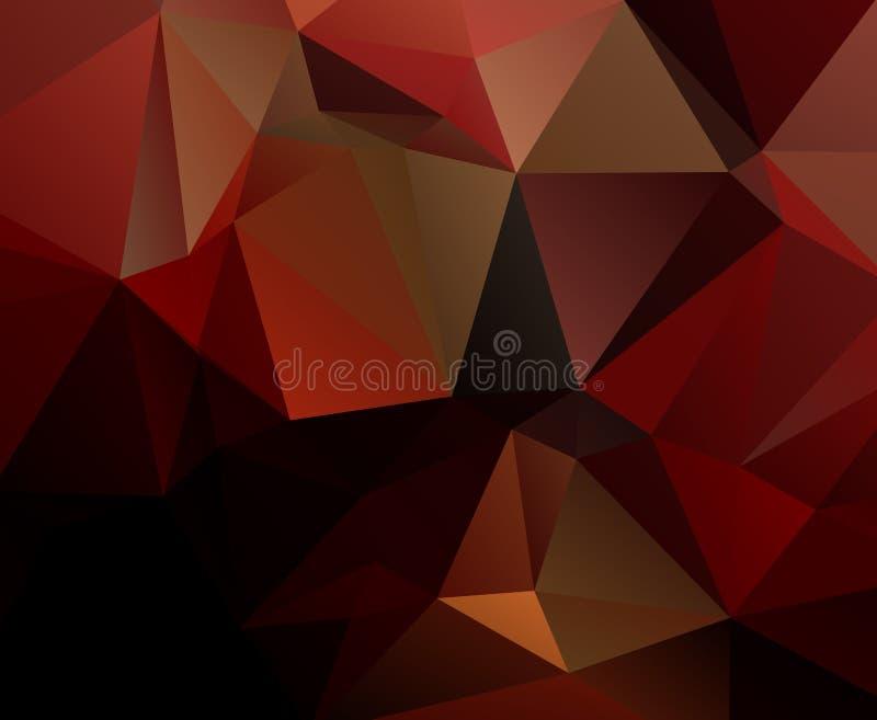 Download Fundo Geométrico Preto Vermelho Eps 10 Ilustração Stock - Ilustração de decor, bonito: 29840470