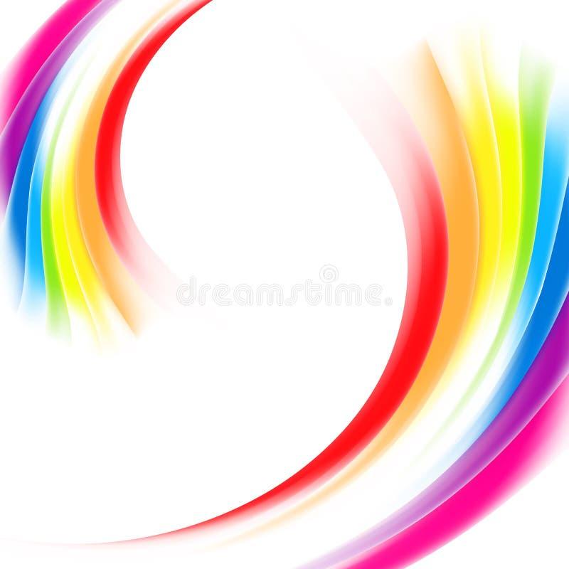 Vector o fundo vibrante colorido da malha abstrata do inclinação do arco-íris Eps 10 ilustração royalty free